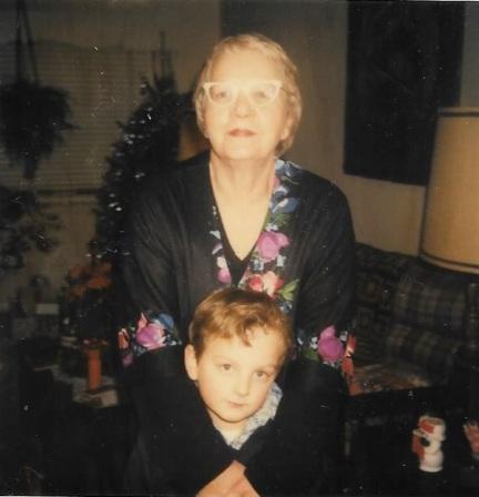 Grandma (Mom's mom) with Danny